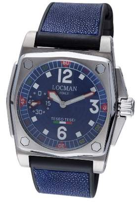 Locman Men's 190BL Teseo Tesel Collection Steel/Titanium Watch