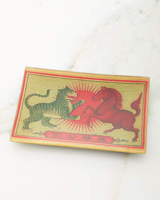John Derian Tiger & Horse Tray