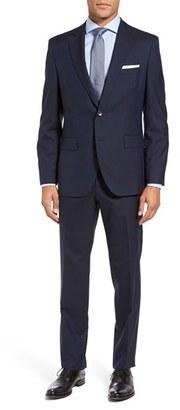 Men's Boss Johnstons/lenon Trim Fit Stripe Wool Suit $995 thestylecure.com
