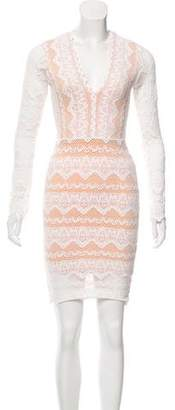 Nightcap Clothing Lace Bodycon Dress