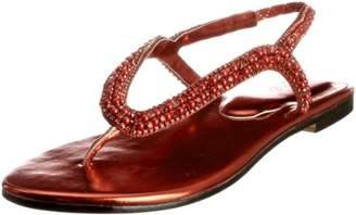 ea6910c5c Unze Evening Sandals Womens Flip-Flops L18359W