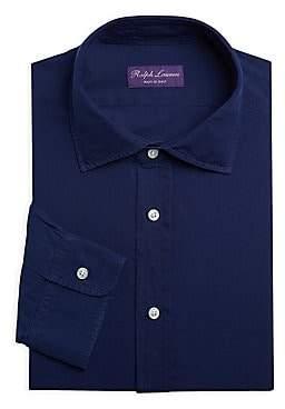 Ralph Lauren Purple Label Men's Purple Label Chambray Dress Shirt
