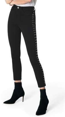 Joe's Jeans Flawless - Charlie Stud Seam High Waist Ankle Skinny Jeans