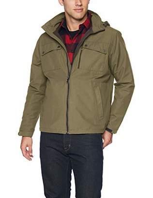 Hawke & Co Men's Hooded 4 Pocket Field Jacket
