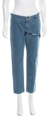 Nina Ricci Mid-Rise Cropped Jeans