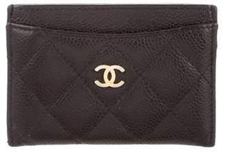 Chanel Caviar CC Card Case