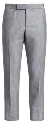 Thom Browne Low Rise Wool & Mohair Trousers