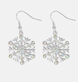 Avenue Snowflake Drop Earrings