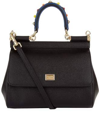 Dolce & Gabbana Small Sicily Top Handle Bag