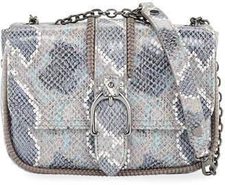 Longchamp Amazon Python Mini Crossbody Bag Gray