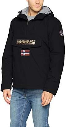 Napapijri Men's Rainforest Winter Jacket (Black 041)