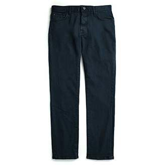 Tommy Hilfiger Men's Adaptive Jeans Straight Adjustable Waist Magnet Buttons