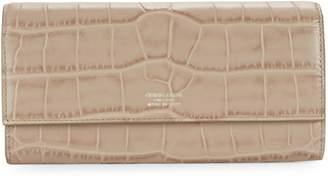 Giorgio Armani Flap Leather Continental Wallet