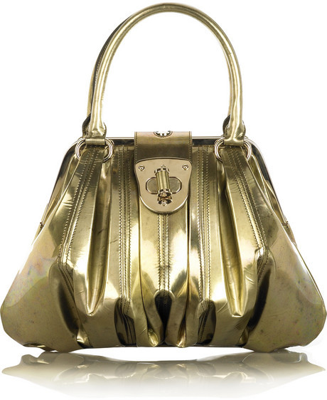 Alexander McQueen Turn-lock framed bag