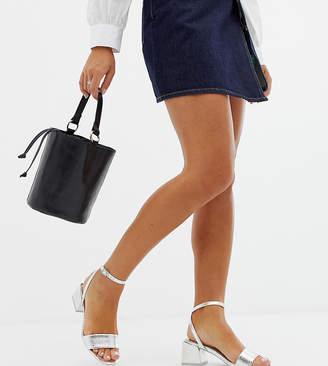 Honeywell Asos Design ASOS DESIGN Wide Fit block heeled sandals