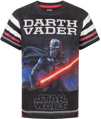Star Wars Childrens Boys Darth Vader Baseball T-Shirt