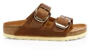 Birkenstock Arizona Hex Big Buckle Leather Sandals