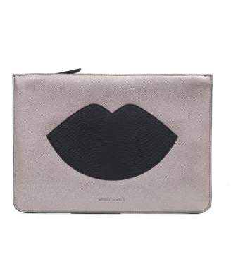 KENDALL + KYLIE Kendall & Kylie Veronica Lip Detail Clutch Bag
