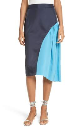 Tibi Colorblock Skirt