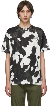 Burberry Black and White Cow Carrick T-Shirt