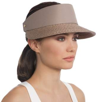 Eric Javits Luxury Fashion Designer Women's Headwear Hat - Champ Visor