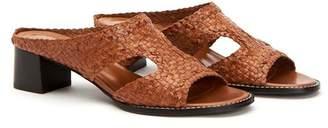 Aquatalia Elena Leather Sandal
