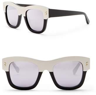 Stella McCartney 49mm Square Sunglasses