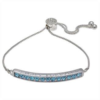 SPARKLE ALLURE Sparkle Allure Womens Blue Stretch Bracelet