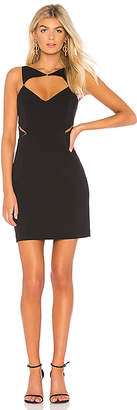 BCBGMAXAZRIA Elshane Cut Out Dress