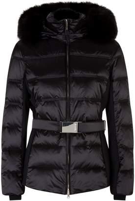 M. Miller Marta Fur Trim Belted Ski Jacket