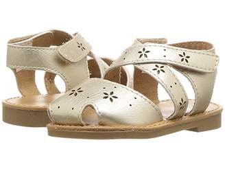 Baby Deer First Steps Sandal with Cut Outs (Infant/Toddler)