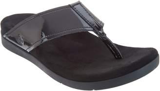 Spenco Orthotic Platform Thong Sandals - Hampton