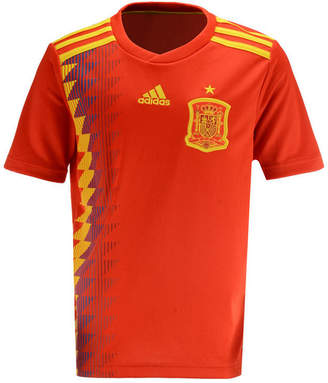 adidas Spain National Team Home Stadium Jersey, Big Boys (8-20)