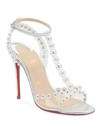 e6644d5a5e0 Christian Louboutin T Strap Women's Sandals - ShopStyle
