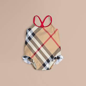 Burberry Check One-piece Swimsuit