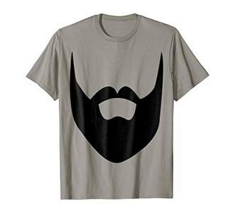 BEARD T SHIRT - Fun Facial Hair Moustache Mens Kids Clothes