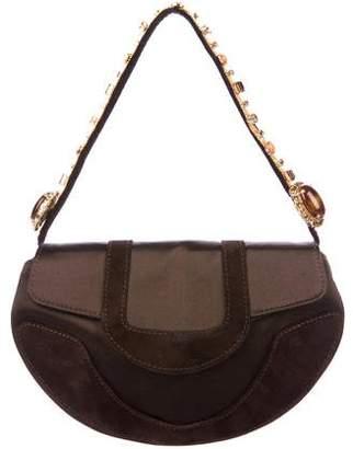 Giuseppe Zanotti Embellished Mini Handle Bag