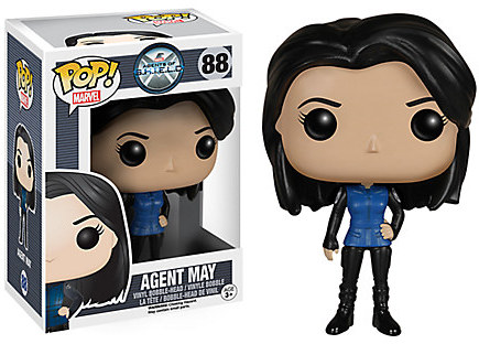 Agent May Pop! Vinyl Bobble-Head Figure by Funko - Marvel's Agents of S.H.I.E.L.D.