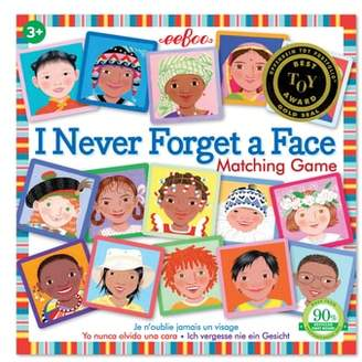 Eeboo Never Forget a Face Matching Game