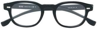 HUGO BOSS classic square glasses