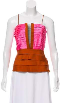 Elise Overland Tiered Sleeveless Top