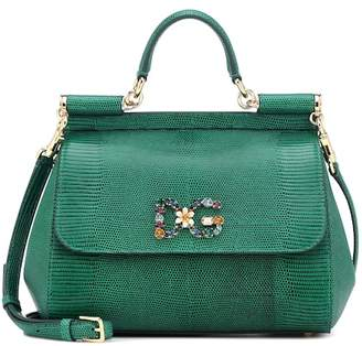 3350ee3f9a86 Dolce   Gabbana Green Leather Handbags - ShopStyle