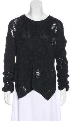 Adriano Goldschmied Knit Drop Shoulder Sweater