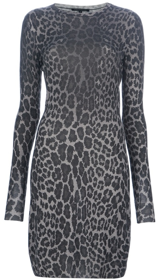 Christopher Kane leopard print dress