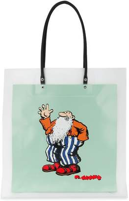 Marc Jacobs PVC animation print tote