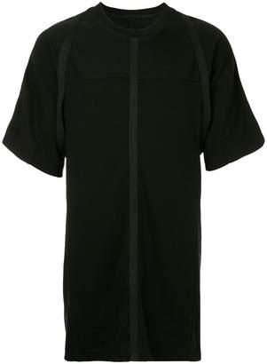 Julius seamed longline T-shirt
