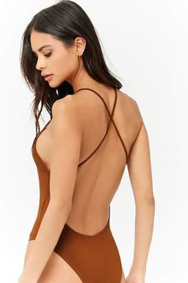 Forever 21 Seamless Cami Bodysuit