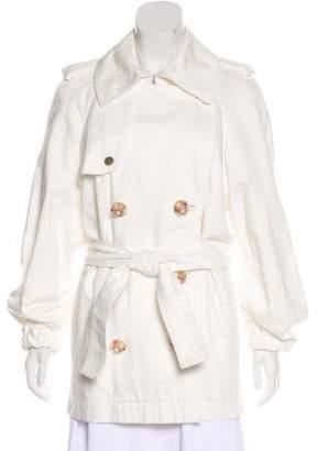 Lanvin x Acne Embellished Trench Coat