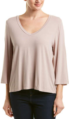Michael Stars Slit Sleeve Top