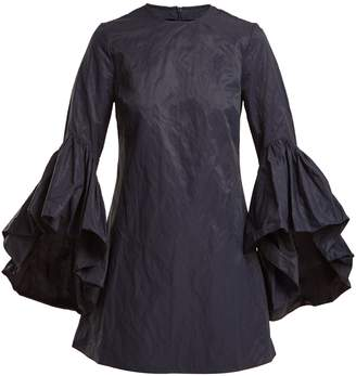 Marques Almeida MARQUES'ALMEIDA Oyster bell-sleeve cotton dress